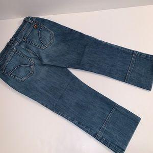 Joes Socialite Kicker Cropped Jeans Size: W27